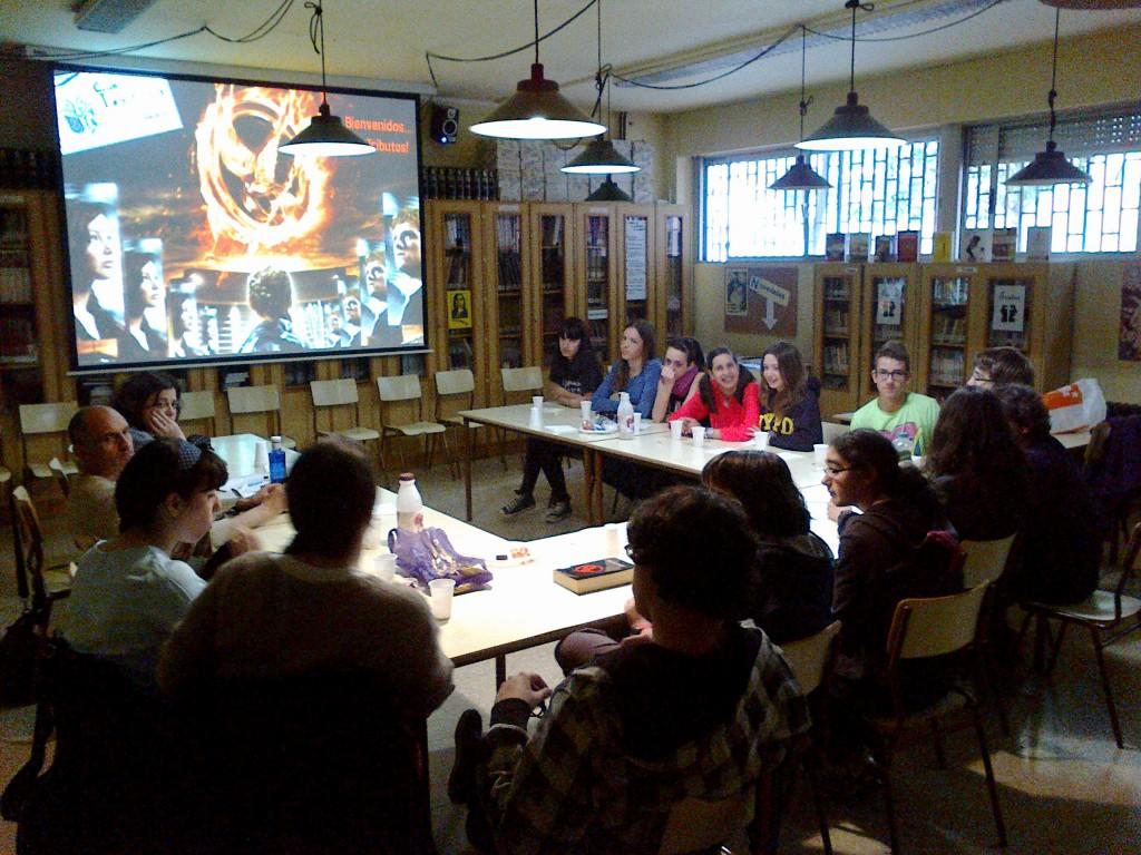 Club de lectura_IES Pedro de Luna_mayo 2013