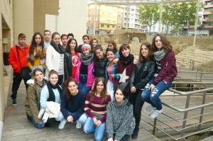 2015_11_10 Visita TEATRO ROMANO 2º Bach-Artes 01-M
