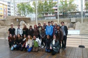 2015_11_13 Visita TEATRO ROMANO 2º Bach-Artes 01a-M
