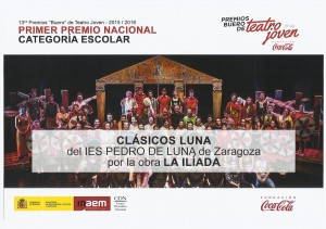 2016_07_04 Clasicos Luna ILIADA Premios Buero DIPLOMA 00-P