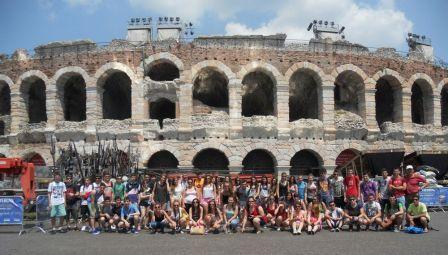 Arena Verona_IES Pedro de Luna_viaje de estudios 2013