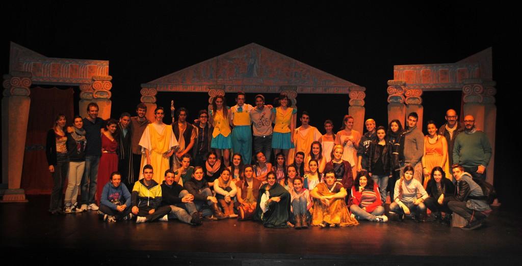Clasicos Luna IES Pedro de Luna Compañia teatral 2013