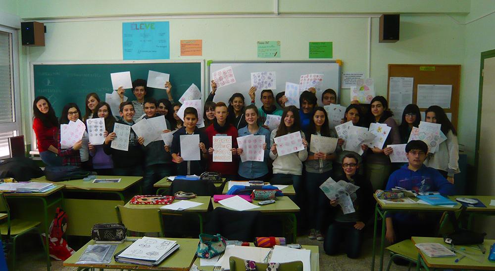 Clasicos Luna ILIADA aula PLASTICA Diseno escudos 2-eso-D WEB-02-M