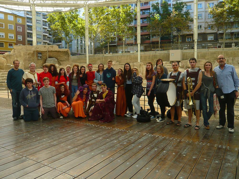 Clasicos Luna TEATRO ROMANO visita INGLESES  23_10_2014 Grupo-01-M