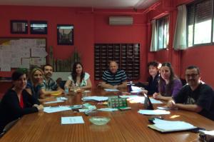 Foto reunión grupo Proyecto Europeo Erasmus +