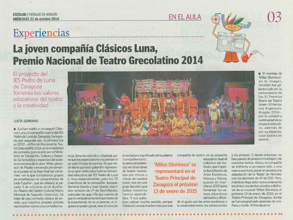 IES Pedro de Luna Clasicos Luna MILES Premio MECyD 2014_10_22 HdeA WEB-N