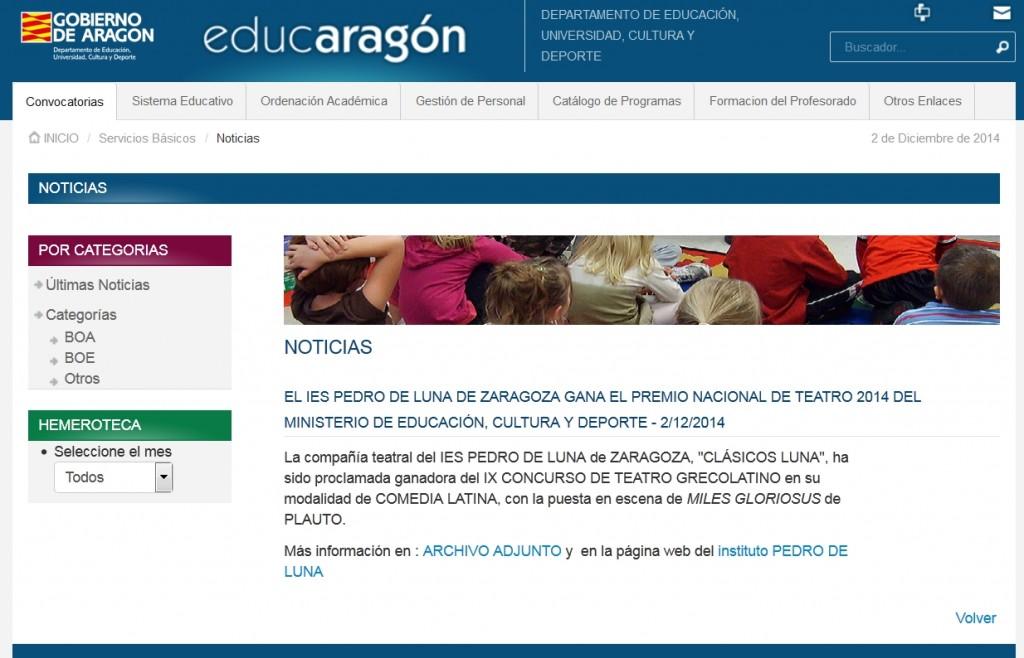 Miles gloriosus y Clasicos Luna en EDUCARAGON web-01-M