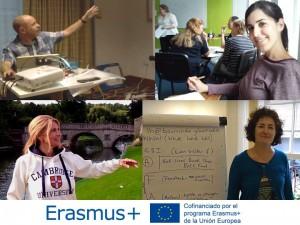 Participantes en las movilidades Erasmus+ en Birmingham, Dublín, Cambridge y Cheltenham
