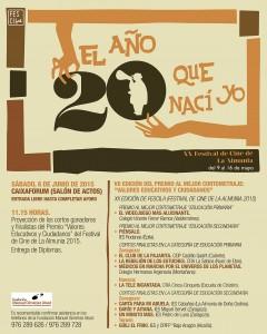 FCZ15_Encuentros Escolares_Cartel 50x70.indd