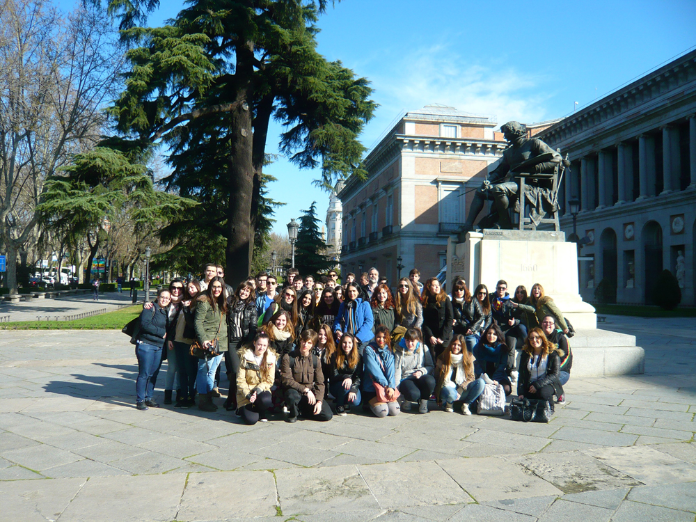 SOCIALES Viaje a MADRID 2014 02-M