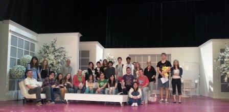 Visita Teatro Principal_IES Pedro de Luna_Bachillerato Artes