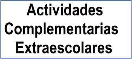 Actividades Complementarias y Extraescolares