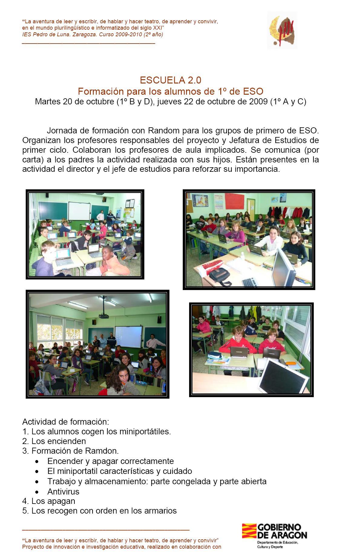 Escuela_2.0 RAMDON 1eso_FORMACION 2009_10_20