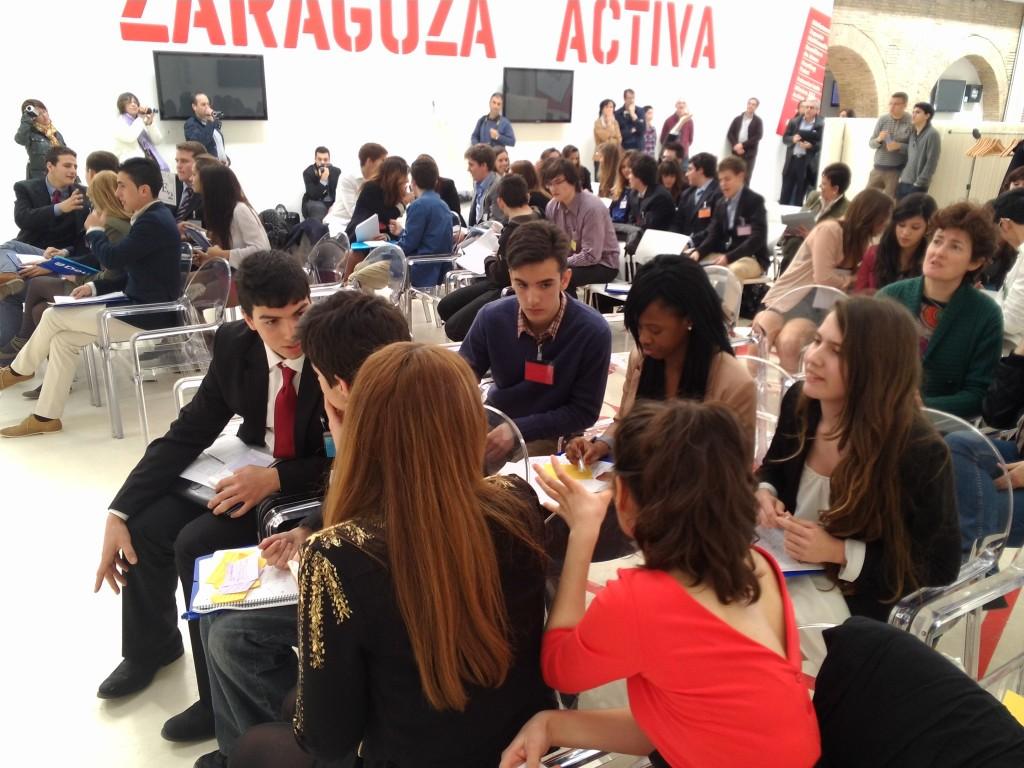 european youth parliament_IES Pedro de Luna_1