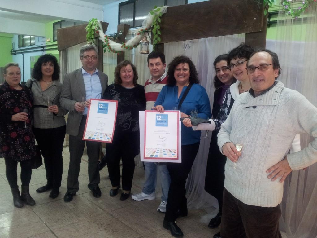 foto AMPA premio ebrópolis IES Pedro de Luna