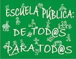 En defensa de la enseñanza pública